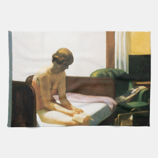 Edward Hopper Hotel Room Hand Towel
