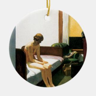 Edward Hopper Hotel Room Ornament