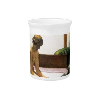 Edward Hopper Hotel Room Beverage Pitchers