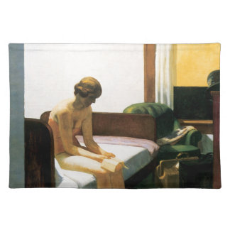 Edward Hopper Hotel Room Placemat