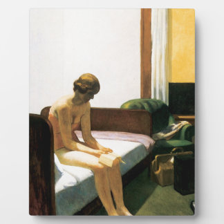 Edward Hopper Hotel Room Plaque