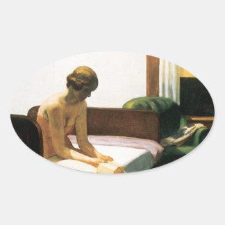 Edward Hopper Hotel Room Sticker