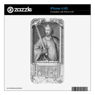 Edward I (1239-1307) King of England from 1272, af Decal For The iPhone 4S