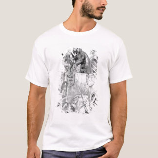 Edward I declaring his son Prince of Wales T-Shirt