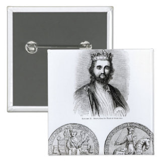 Edward II  drawn from the Tomb Button