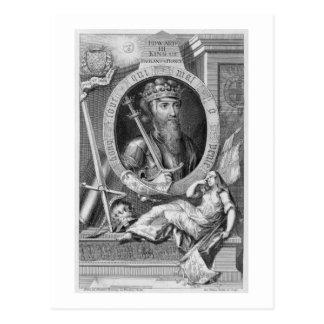 Edward III (1312-77) King of England from 1327, af Postcard