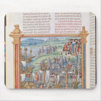 Edward IV del aterrizaje de Inglaterra en Calais Tapete De Ratón