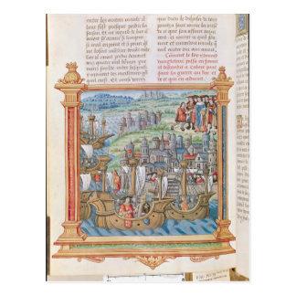 Edward IV of England landing in Calais Postcards