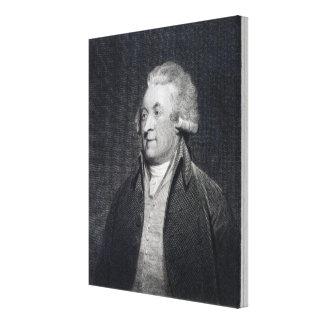 Edward Jerningham , 1794 Canvas Print