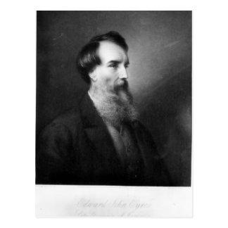 Edward John Eyre Postcard