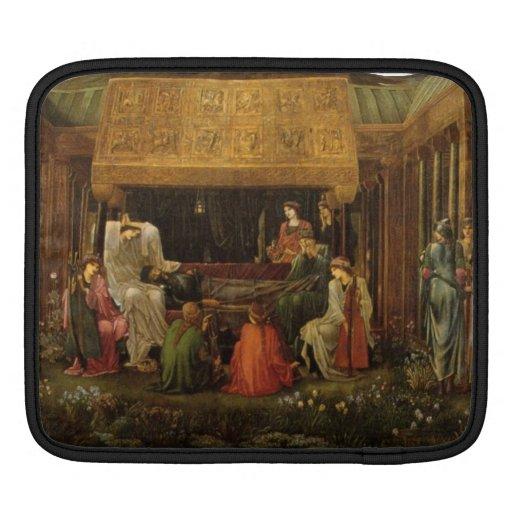 Edward Jones - Death of King Arthur iPad Sleeve