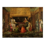 Edward Jones - Death of King Arthur Post Cards