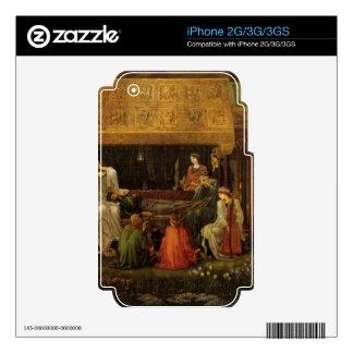 Edward Jones - Death of King Arthur Skin For iPhone 2G