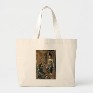 Edward -Jones- King Cophetua and the Beggar Maid Large Tote Bag
