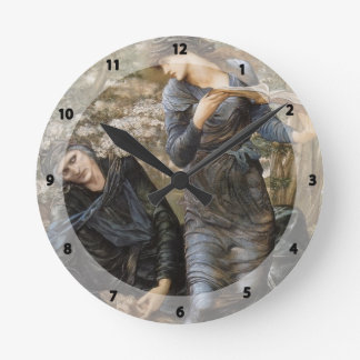 Edward Jones- The Beguiling of Merlin Round Wall Clock