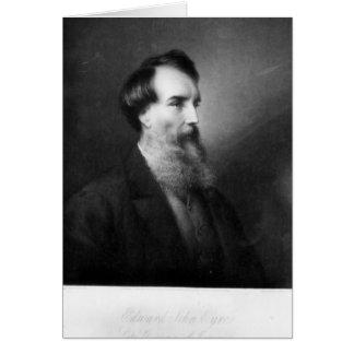 Edward Juan Eyre Tarjeta De Felicitación
