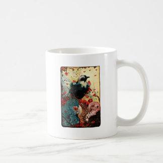 Edward Julius Detmold Jackdaw Coffee Mugs