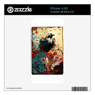 Edward Julius Detmold Jackdaw iPhone 4 Decal