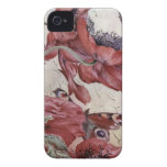 Edward Julius Detmold Poppies And Butterflies iPhone 4 Cases