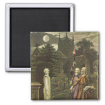 Edward Kelly 2 Inch Square Magnet