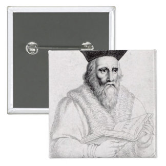 Edward Kelly, engraved by Richard Cooper Pinback Button