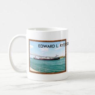 Edward L. Ryerson con el puente del agua azul Tazas