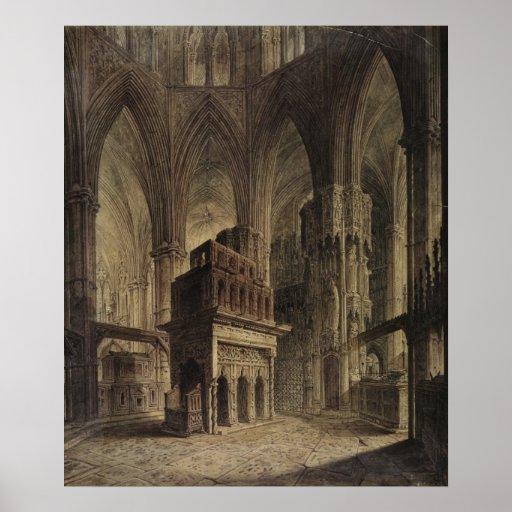 Edward la capilla del confesor, abadía de Westmins Póster