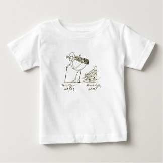 Edward Lear and Foss Baby T-Shirt
