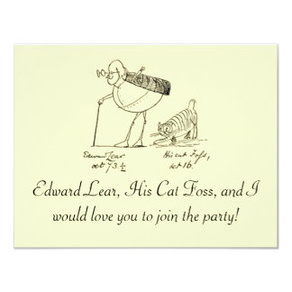 Edward Lear and Foss Card