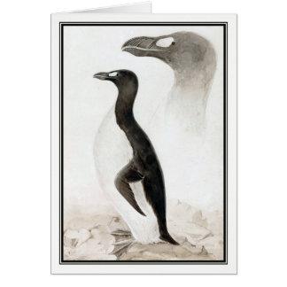 Edward Lear - Great Auk Card