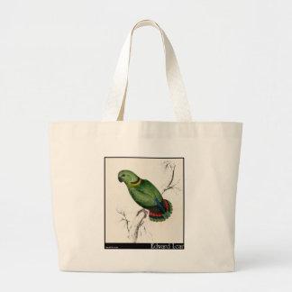 Edward Lear s Swindern's Parakeet Tote Bag