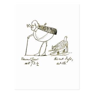 Edward Lear y Foss Postal