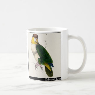 Edward Lear's Bay-Headed Parrot Coffee Mug