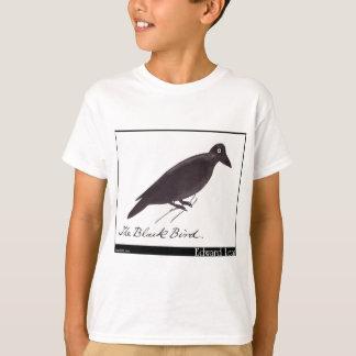 Edward Lear's Black Bird T-Shirt