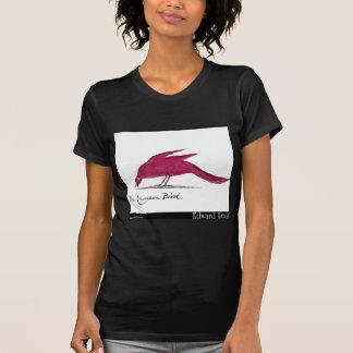 Edward Lear's Crimson Bird T-Shirt