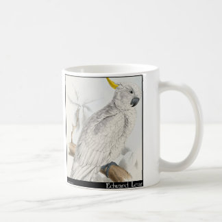 Edward Lear's Greater Sulphur-Crested Cockatoo Coffee Mug