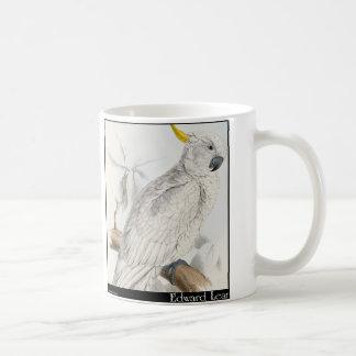 Edward Lear's Greater Sulphur-Crested Cockatoo Coffee Mug