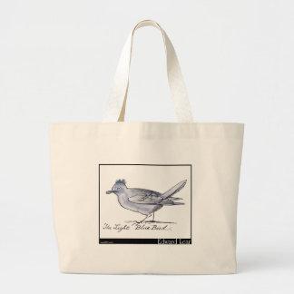 Edward Lear's Light Blue Bird Tote Bag
