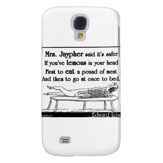 Edward Lear's Mrs. Jaypher Galaxy S4 Cover