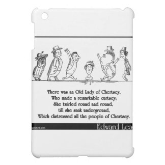 Edward Lear's Old Lady of Chertsey Limerick iPad Mini Cases