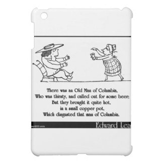 Edward Lear's Old Man of Columbia Limerick iPad Mini Case