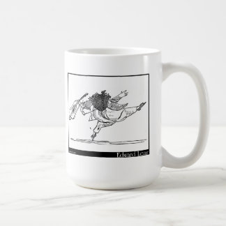 Edward Lear's Old Person of Ischia Image Coffee Mug