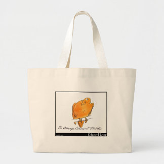 Edward Lear's Orange-Coloured Bird Tote Bag