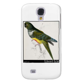 Edward Lear's Patagonian Parakeet-Macaw Samsung S4 Case