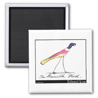 Edward Lear's Runcible Bird Magnet