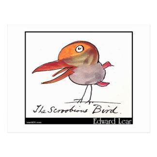 Edward Lear's Scroobious Bird Postcard