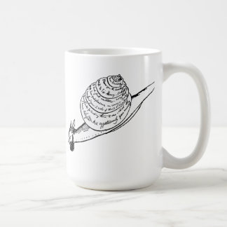 Edward Lear's Snail Mail Coffee Mug