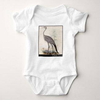Edward Lear's Stanley Crane Baby Bodysuit