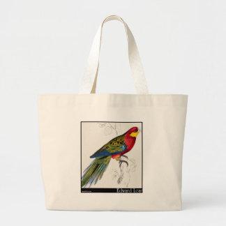 Edward Lear's Stanley Parakeet Adult Canvas Bag