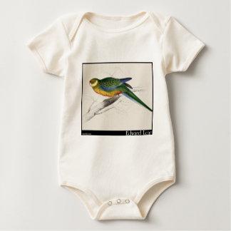 Edward Lear's Stanley Parakeet Juvenile Baby Bodysuit
